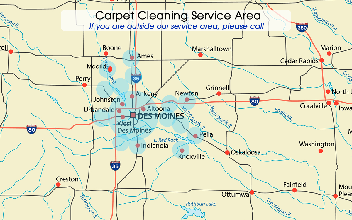 Iowa Carpet Cleaning Service Area Springer Floor Care